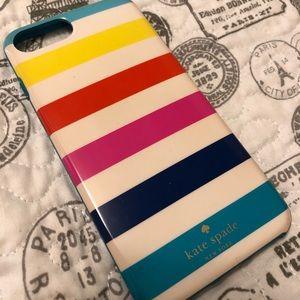 Kate spade iphone 7,8 PLUS case